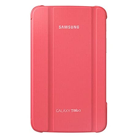Samsung Book Cover For Galaxy Tab 3 T2110  Pink  Touch Screen Tablet Bags   Cases