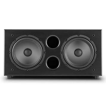 7831aa150f50c auna Linie 501 SW BK subwoofer Actif Deux Voix idéal pour Home cinéma (avec  amplificateur