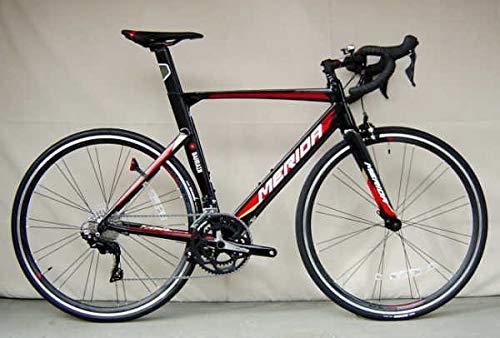 MERIDA(メリダ) ロードバイク REACTO 400 (リアクト 400) 2019モデル (ブラック(TEAM REPLICA)   EKC2) 52サイズ B07HG11PSB