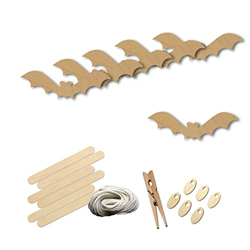 Halloween Bat Wood Shape Craft Kit