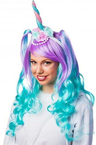 Damen Bunte Einhorn Blume Haarband Stirnband Mythisch Kreatur ...