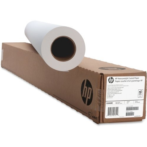 Hp Designjet Coated Paper - HP C6569C Coated Paper,Heavyweight,35 lb,42