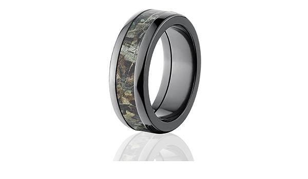 Camouflage Wedding Band Custom Camo Wedding Ring Realtree Max Camo Pattern Camo Jewelry RealTree Max Camo Ring 4HR/_RTMAX1