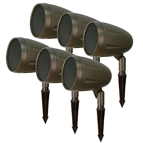 Outdoor Landscape Speakers by AVX Audio (6 Speakers)