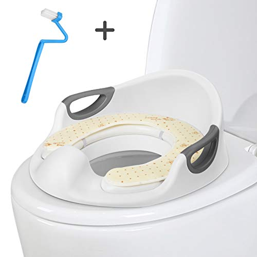 Potty Training Seat Toilet for Kids Toddlers Baby Boys Girls Infant Toilet Training Seat Fit Round and Oval Toilets