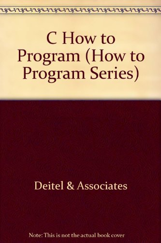 C How to Program (How to Program Series) by San Val