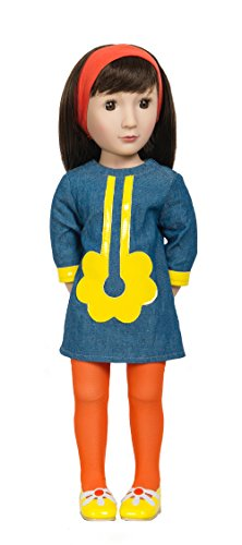 A Girl for All Time - Sam, Your 1960s Girl - 16 inch Poseable Collectible Doll - Historical Fashion Doll - Best Girls Gifts, Toys and Dolls, -