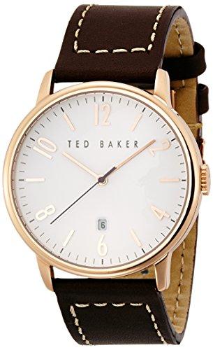 Ted Baker Men's TE1121 Modern Vintage Analog Display Japanese Quartz Brown Watch