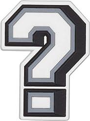 Charms Para Calçados Question Mark, Crocs, Adulto Unissex