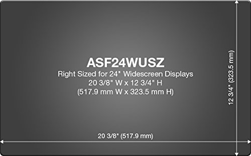 Targus 4Vu Privacy Filter Screen for 24-Inch Widescreen (16:10 Ratio) Monitors (ASF24WUSZ) by Targus (Image #3)