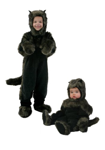 Little Boys' Toddler Toto Costume 18 Months Black,Brown ()