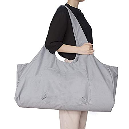EUYOUZI Yoga Mat Carrier, Large Yoga Mat Tote Bag with Yoga ...