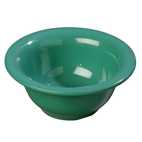 carlisle-10-oz-538-in-diameter-melamine-rimmed-nappie-bowl-in-meadow-green-case-of-24