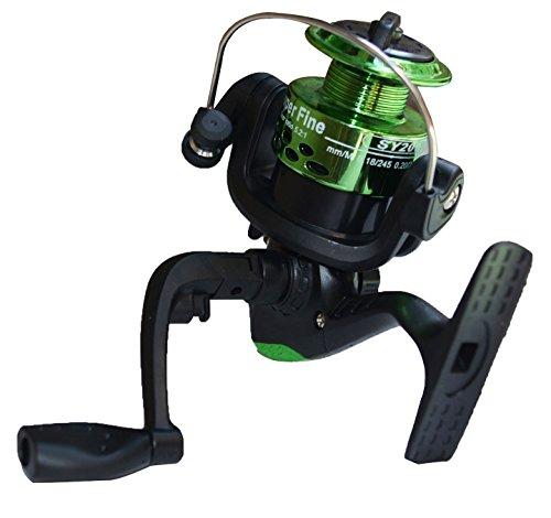 Lifelj Lightweight aluminum material Spinng Fishing Reels (green )
