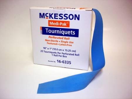 Tourniquet Lf Reeled 18X1 25Ea/Bx by McKesson (Image #1)