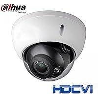 Dahua A21BM0V( International Model: HDBW1200 ) HDCVI 1080P VF Vandal Dome, 30fps@ 1080P, 2.7-12mm Lens, IR30M,Smart IR, IP67,IK10, DC12V (NO LOGO Original Housing Local Support)