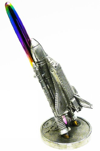 Jac Zagoory Pen Stand Write Now Rocket Stand - JZ-PH108 ()