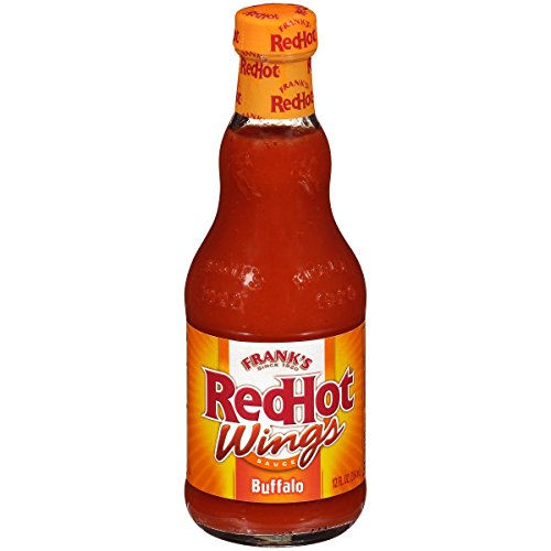 Frank's RedHot Buffalo Wings Sauce (Chicken Wing Seasoning, Hot Sauce Bulk) 12 fl oz