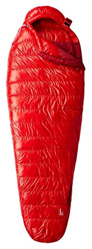 Mummy Bag Columbia Sleeping - Mountain Hardwear Phantom Spark 28F Sleeping Bag - Fiery Red Regular