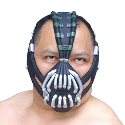 Batman Bane Máscara con Voice Changer / Modulador, Adulto Xcoser: Amazon.es: Videojuegos
