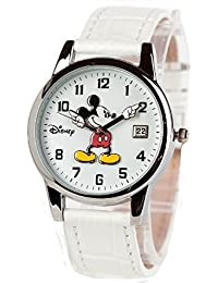 Mickey Mouse Classic Nurse Watch for Men - Women White