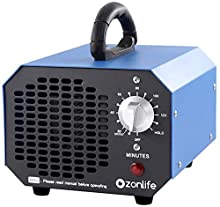 Ozonlife Commercial Ozone Generator 6000 mg/h Industrial Air Purifier Ionizer O3 Machine for Home Large Rooms