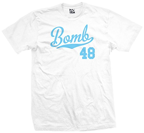 (Shirt Boss Unisex Bomb 48 Script & Tail T-Shirt XL White / Light)