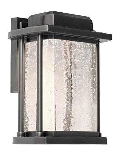 Wall Sconces 1 Light Bulb Fixture with Slate Finish Cast Aluminum LED 6