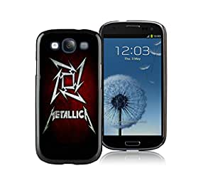 Customized Phone Case For Samsung S3 Metallica 01 Cell Phone Cover Case for Galaxy S3 I9300 Black