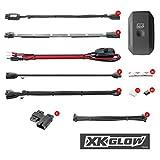XK-GLOW KS-MOTO-ADVANCE 10 Pod 8 Strip 2nd gen XKchrome App Control Motorcycle Advanced LED Accent Light Kit