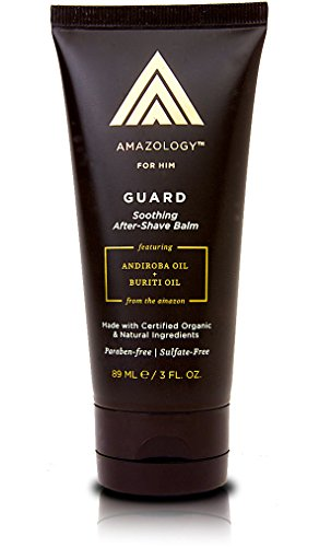 Amazology Guard Men's After Shave - 95% Natural The Ultimate Soothing & Organic After Shave Balm
