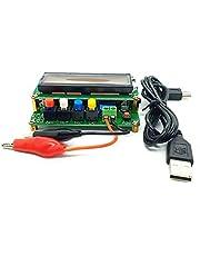 YUNCAI LC100-A Digital LCD de alta precisión Inductancia capacitancia L/C medidor capacitador probador 1pF-100mF 1uH-100H LC100 A+clip de prueba