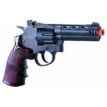 Crosman GameFace ACG357 GF600 357 CO2 Powered Semi Auto 8-Shot Airsoft Revolver