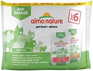 Almo nature - Mochila multifunción para Gatos (6 x 70 g)