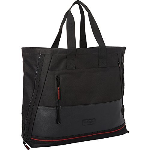 Triple Five Soul Fifth Ave Tote Bag Black No (Triple Zip Tote)
