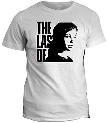 Fruit Of The Loom T-Shirt For Men - L, White The Last Of Us Ellie