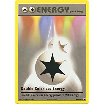 Pokemon - Double Colorless Energy (90/108) - XY Evolutions
