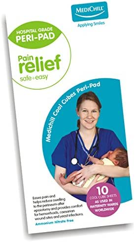 Medichill Perineal Cool Pads (Pack of 10)