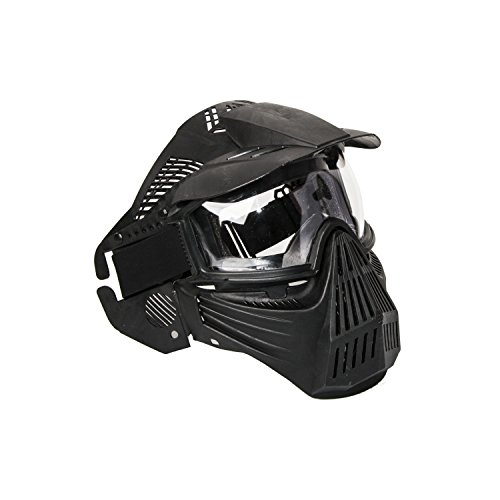 ALEKO PBM258BK Tactical Anti Fog Mask for Paintball Airsoft Black by ALEKO