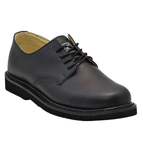 Steel Toe Oxford 10.5 Black (Lined Steel Toe Oxfords)