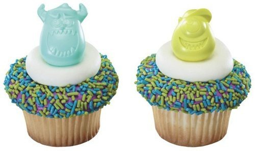 Monsters University Sulley Cupcake Rings
