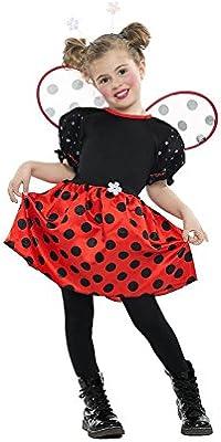 Car&Gus Disfraz de Mariquita para niña: Amazon.es: Juguetes y juegos