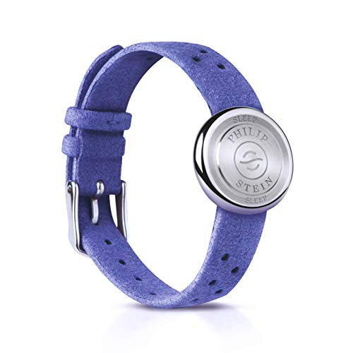 Sleep Bracelet Nano by Philip Stein with Sleep Aid Natural Frequency Technology - No Batteries Needed, Unisex for Men and Women, Blue Strap