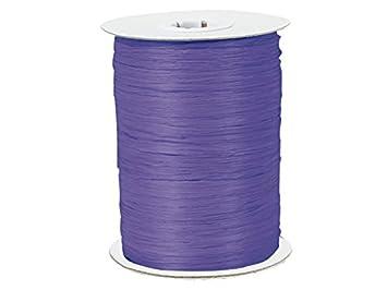 Paper Raffia Ribbon Twisted 1//4-100 Yards Roll 100/% Natural Fibers Choose Color Coral