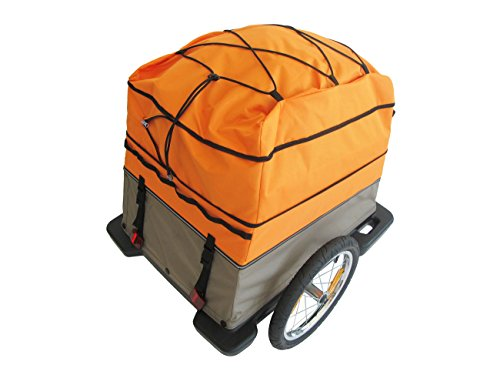 Croozer Cargo Touring Cover for Cargo Bike Trailer Orange by Croozer