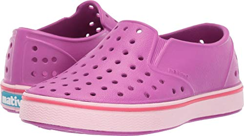 Native Kids Shoes Baby Girl's Miles (Toddler/Little Kid) Origami Purple/Blossom Pink 5 M US Toddler