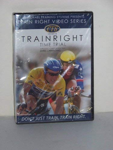 DVD Train Right Time Trial Cycling with Chris Carmichael Bicycle Sports from Carmichael