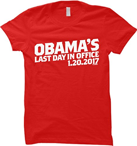Tcombo Obama's Last Day In Office Womens T-shirt (XL, ()