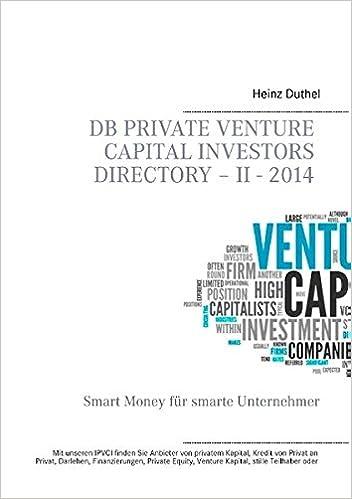 DB Private Venture Capital Investors Directory - II - 2014