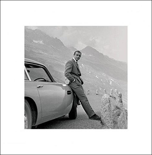 Pyramid International James Bond (Aston Martin)  –   Stampa Artistica 40  x 40  cm, Carta, , 40  x 40  x 1.3  cm 40 x 40 x 1.3 cm PPR45177